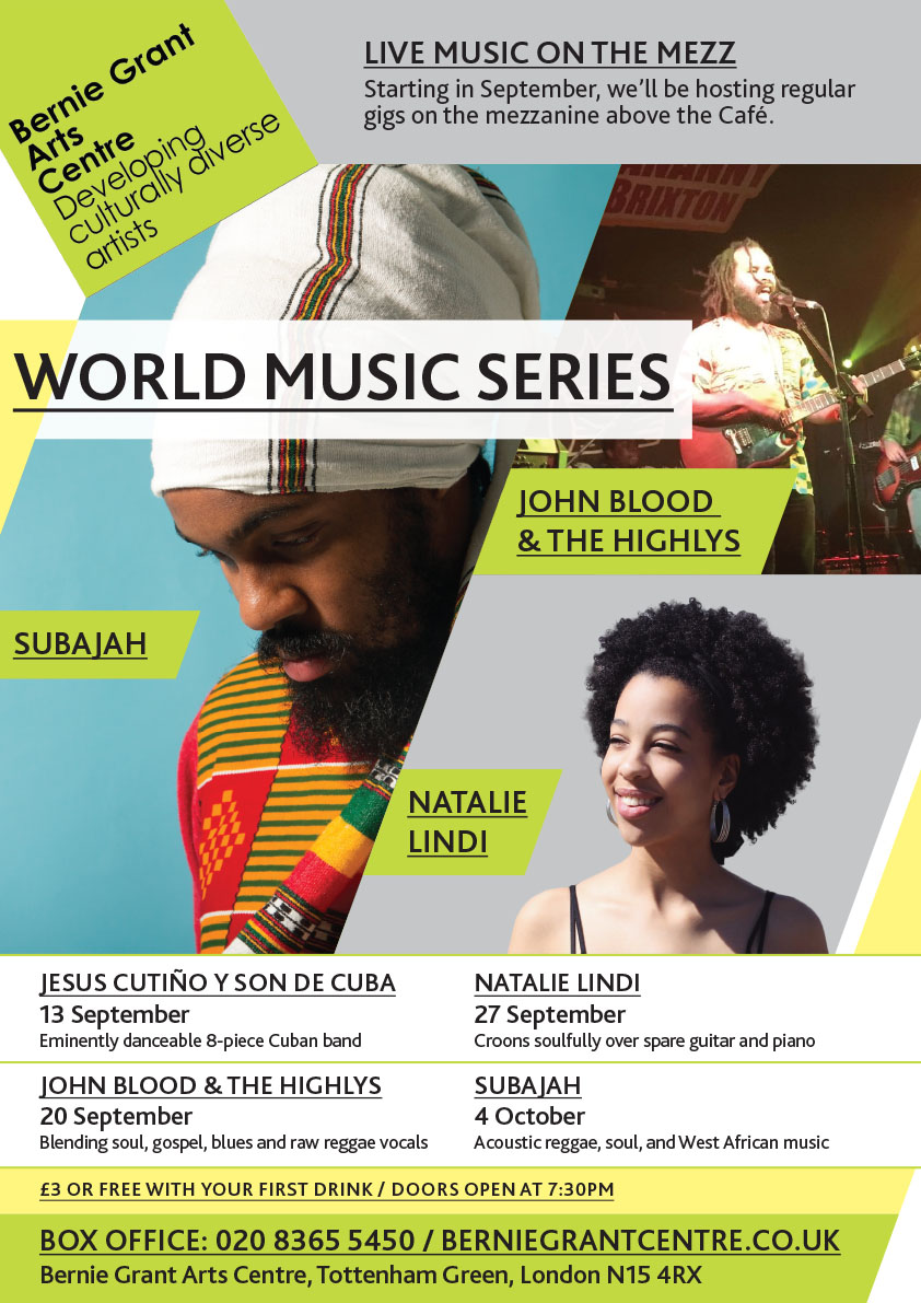 BGAC Flyer Design Wold Music Series