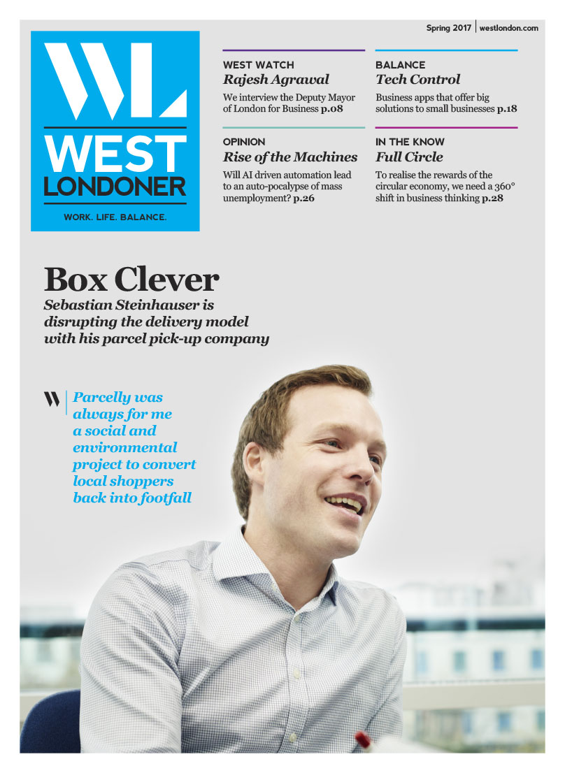 West Londoner Front Cover designed by West Creative