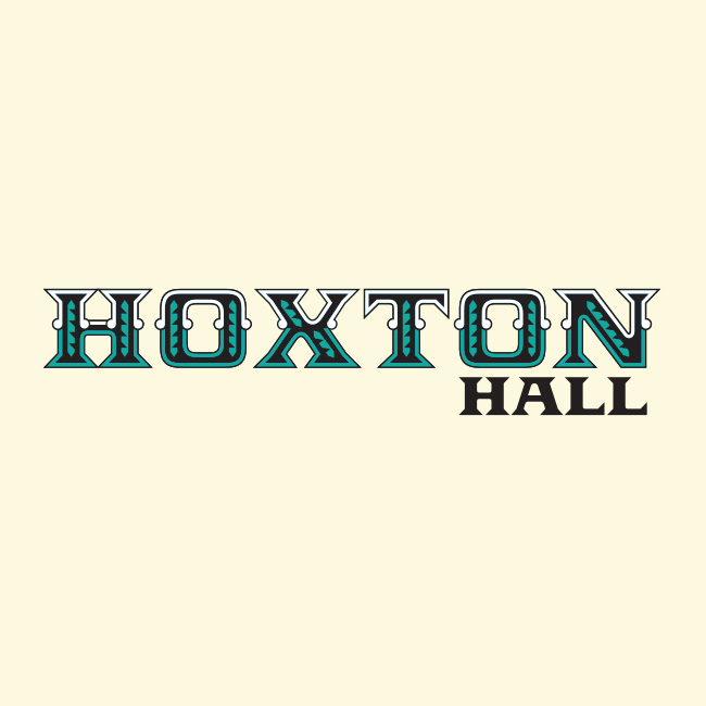 Hoxton Hall heritage logo - designed by West Creative