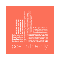 Poet in the City, a West Creative Ltd client